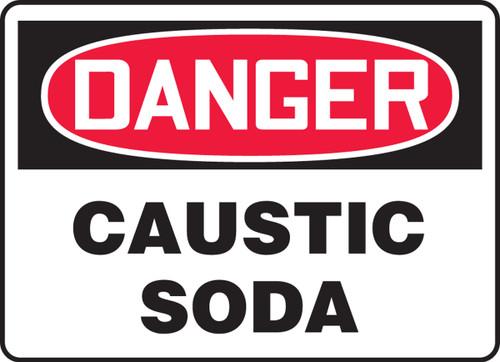 Danger - Caustic Soda