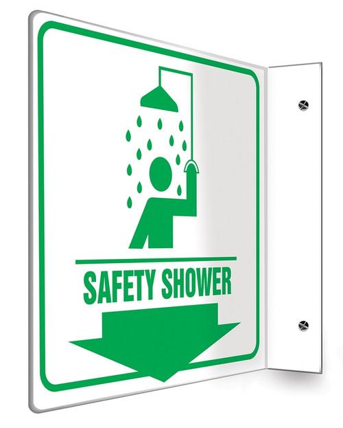 Safety Shower Sign