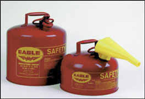 Eagle Type I Safety Can 2 Gallon with Funnel