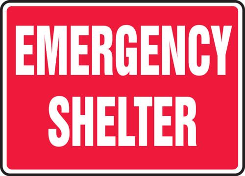 Emergency Shelter - Adhesive Vinyl - 10'' X 14''