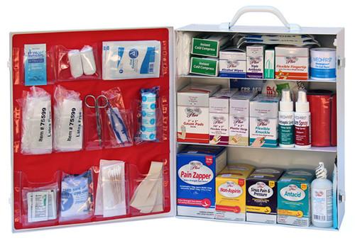 3 Shelf First Aid Kit - Includes Shelf