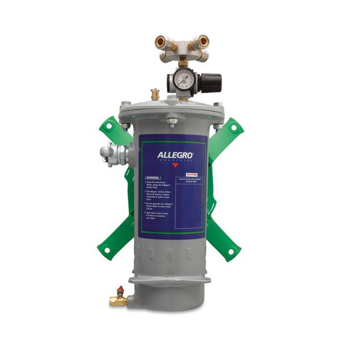 Allegro 9874-W/O Airline Filter Four Worker