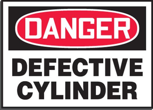 Defective Cylinder Sign Magetic Vinyl