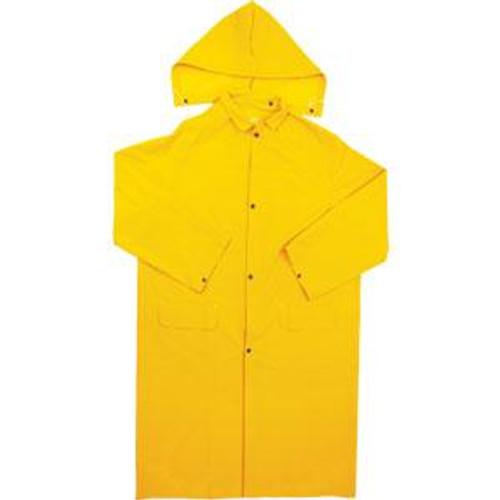 PVC Raincoat With Hood  2 X-Large