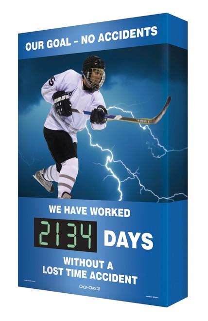 Digi Day 2 Safety Scoreboard- Hockey SCG134