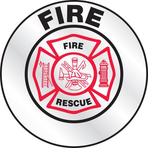 Fire Helmet Sticker