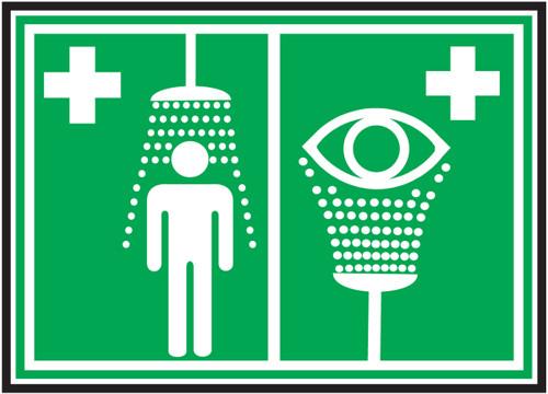 Emergency Shower-Eyewash ISO