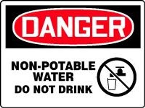 Danger Non-Potable Water Do Not Drink