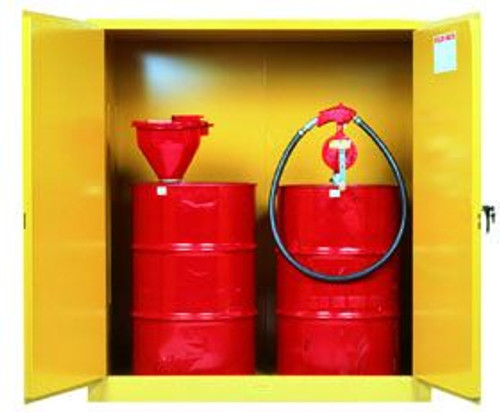 Justrite Vertical Drum Safety Cabinet | 110 gallon