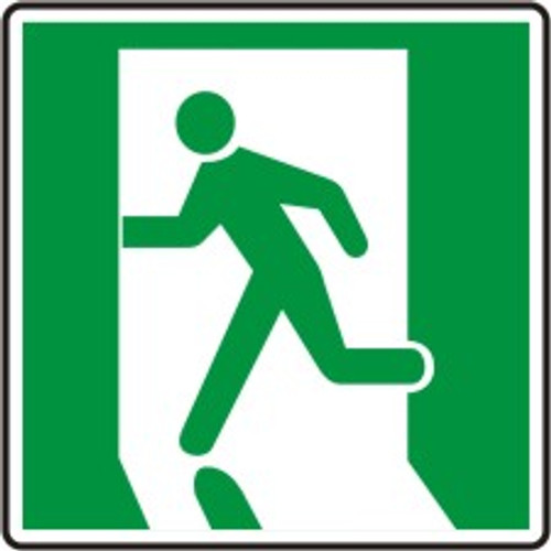 Exit Route Symbol Left