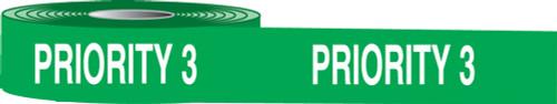 Priority 3 Plastic Barricade Tape