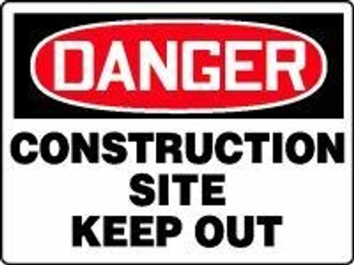 Danger Construction Site Keep Out