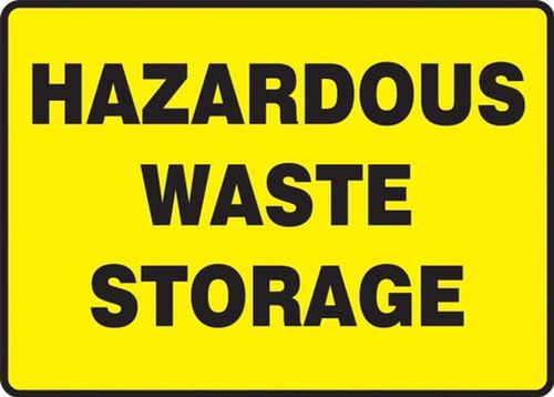 hazardous waste storage sign  MCHL566