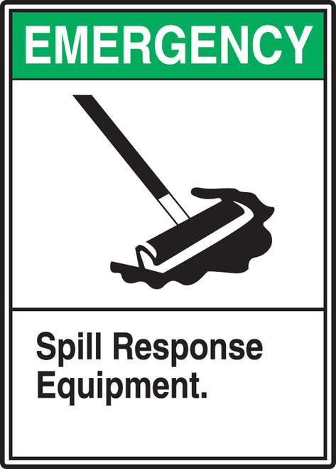 Spill Response Equipment - Adhesive Dura-Vinyl - 14'' X 10''