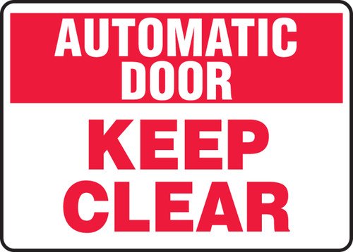 Automatic Door Keep Clear