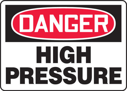 Danger - High Pressure