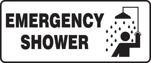 Emergency Shower Sign 1