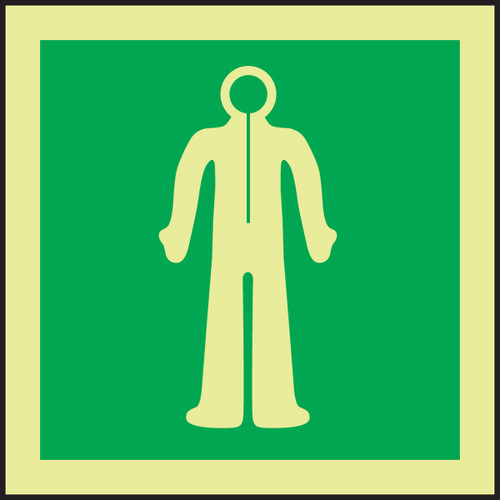 Immersion Suit IMO Sign