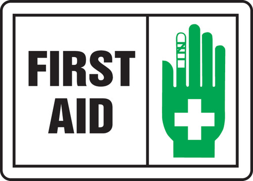 First Aid Sign 5