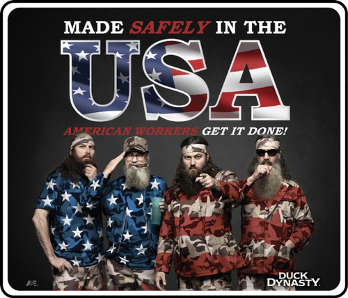 DUCK DYNASTY® MOTIVATIONAL SIGN MADE IN THE USA
