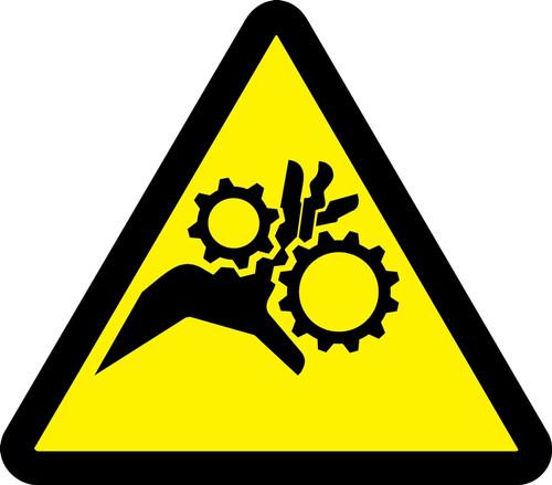 Gear Entanglement Hazard
