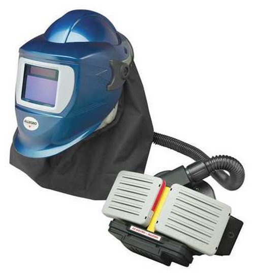 Allegro 9934-WE EX Air pro blue welding helmet PAPR assembly