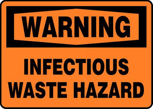 Warning - Infectious Waste Hazard