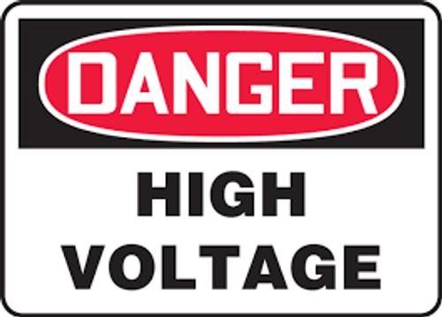 Danger - Danger High Voltage - Max Alumalite - 48'' X 72''