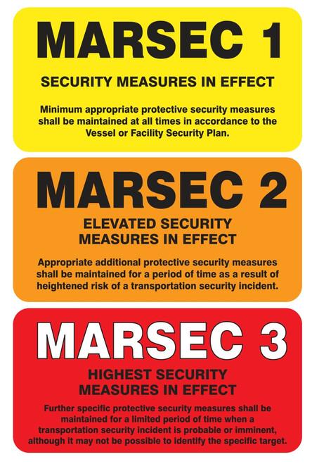 MASE545XL MARSEC Flip Sign Set