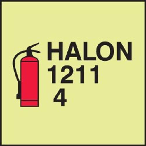 Fire Extinguisher - Halon