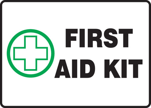 MFSD441 First Aid Kit Sign