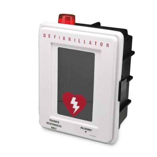 Allegro 4400-DA Plastic Defibrillator Wall Case w/ Alarm