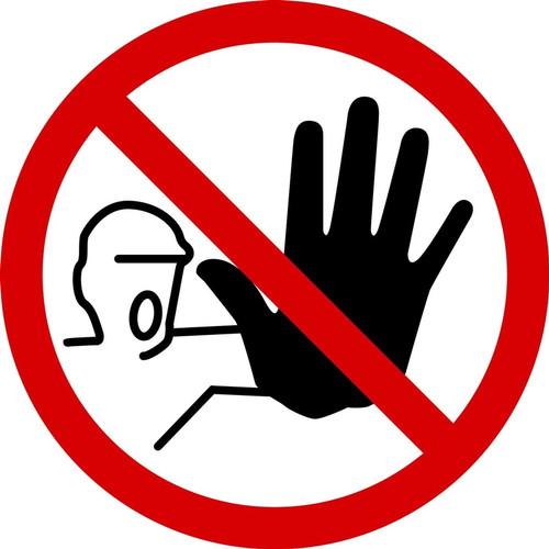 No Access ISO Symbol