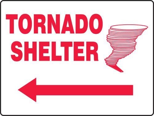 Tornado Shelter Sign MFEX519VP