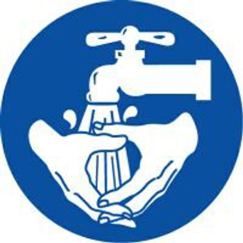 Wash Hands ISO Sign