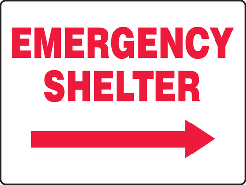 Emergency Shelter Sign MFEX539