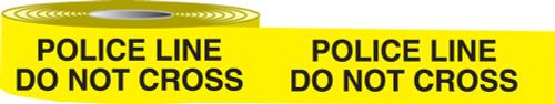Police Line Do Not Cross Barricade Tape