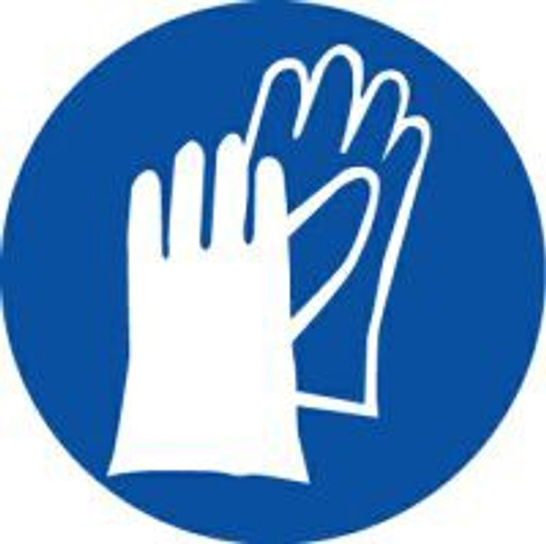 Wear Hand Protection ISO Safety Sign