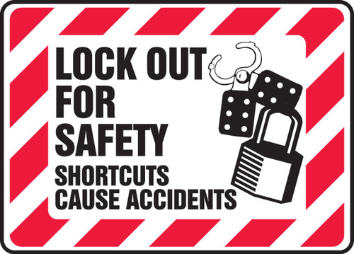 Lock Out For Safety Shortcuts Cause Accidents