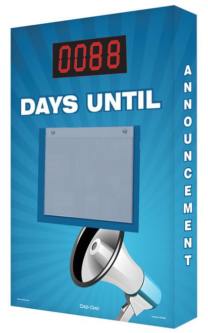 Countdown Digi-Day Board Megaphone