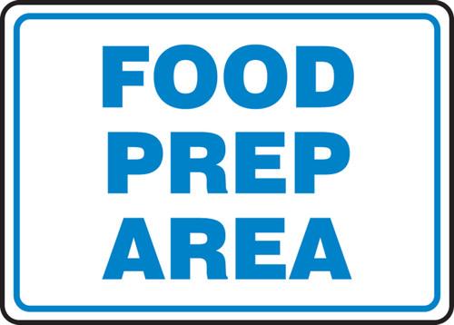 Food Prep Area - .040 Aluminum - 7'' X 10''
