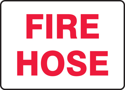 Fire Hose - Adhesive Vinyl - 7'' X 10''