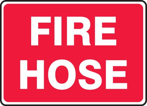 Fire Hose - Adhesive Dura-Vinyl - 10'' X 14''