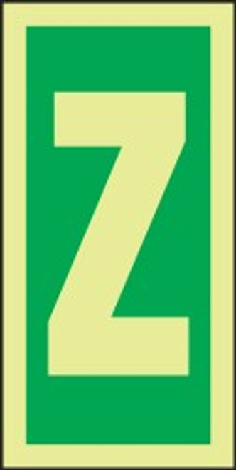 Letter Z IMO Character