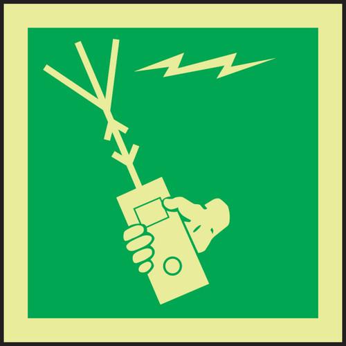Survival Craft Portable Radio IMO Sign
