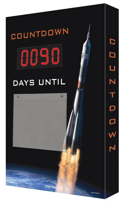Countdown Scoreboard- Digi Day- Rocket Launch