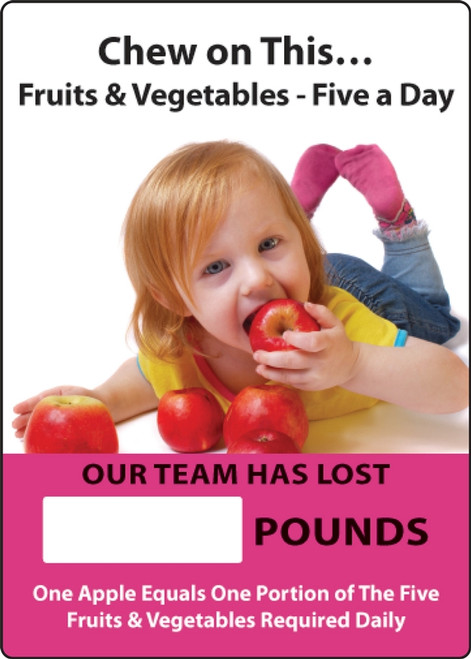 Work Healthy Write-A-Day Scoreboard- Chew on This
