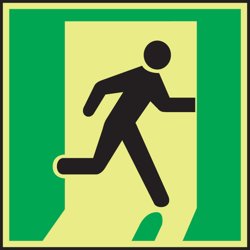 Exit Right IMO Sign