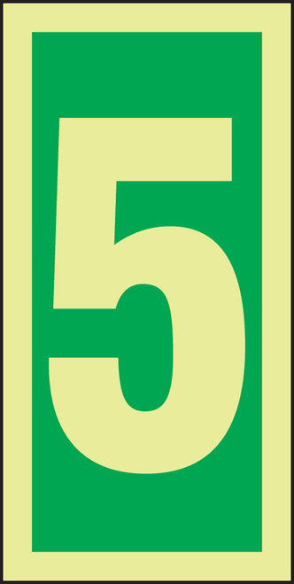 Number 5 IMO Sign
