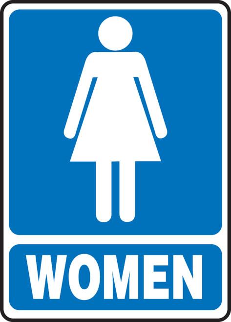 MRST523VP Womens Restroom Sign
